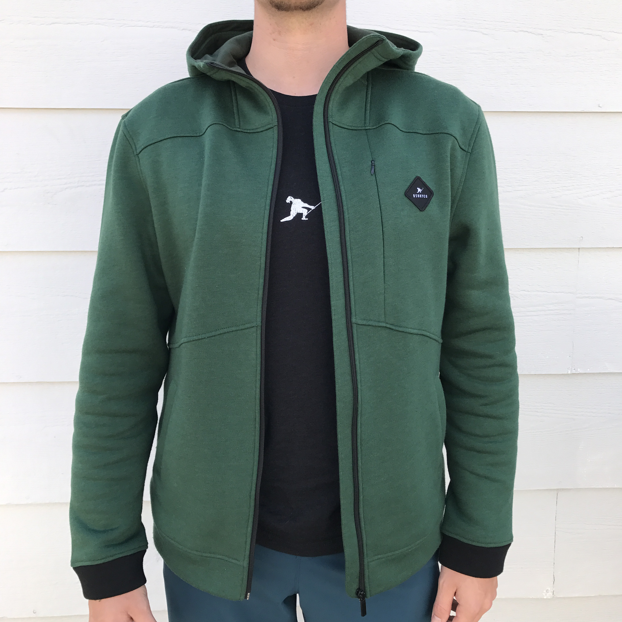 Team First *Technical Fleece (Forest/Black)