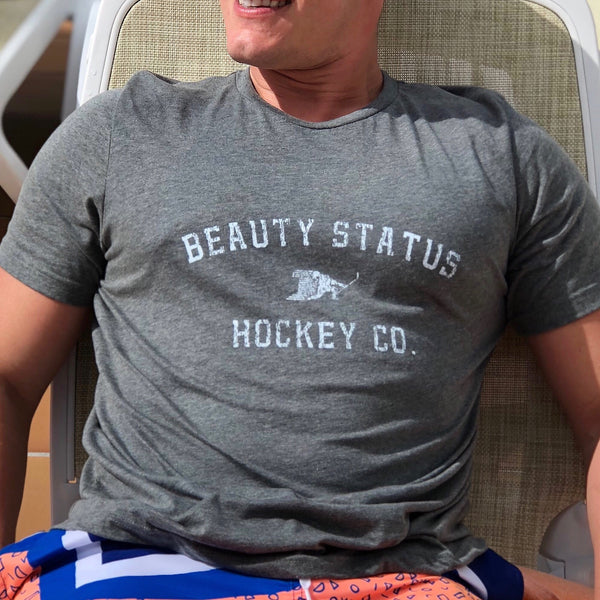 Pre-Game (Heather Grey) - Beauty Status Hockey Co.