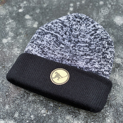 In The Clutch Knit (Puck Mark Heather/Black)