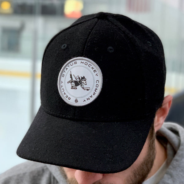 Wolves of Winter (Black Wool) - Beauty Status Hockey Co.