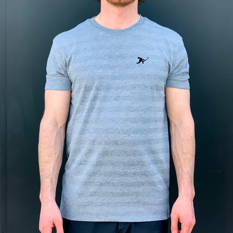 Team Issued (Grey Heather Phantom Stripe)