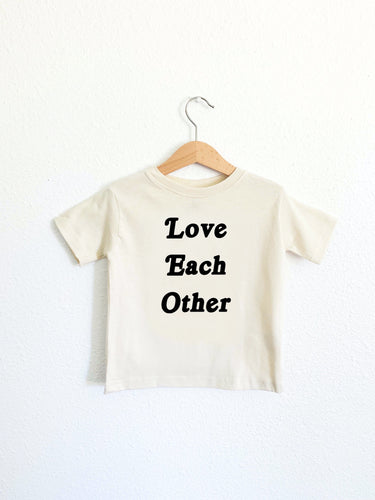Love Each Other Toddler Tee
