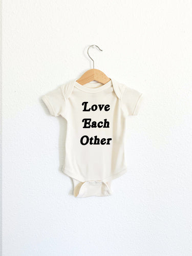 Love Each Other Onesie