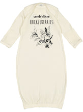Load image into Gallery viewer, Sweeter than Huckleberries Newborn Gown