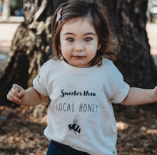 Load image into Gallery viewer, Sweeter than Local Honey Toddler Tee