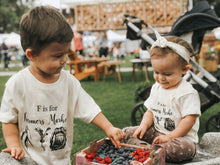 Load image into Gallery viewer, F is for Farmers Market Toddler Tee
