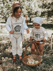 Sweeter than Homemade Pie Long Sleeve Onesie