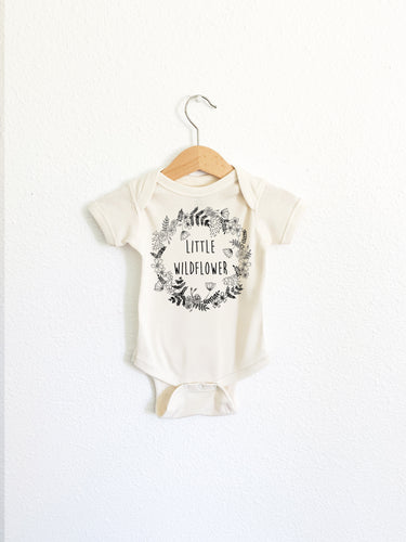 Little Wildflower Onesie