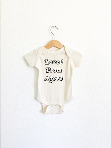 Loved From Above Onesie