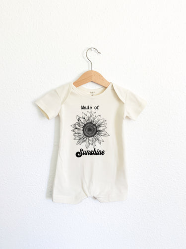 Made of Sunshine Romper Shortie