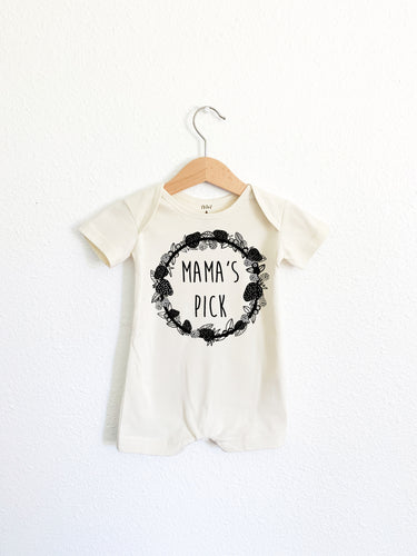 Mama's Pick: Short Sleeve Romper