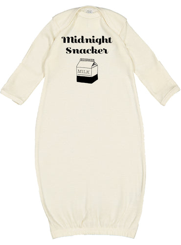Midnight Snacker Newborn Gown