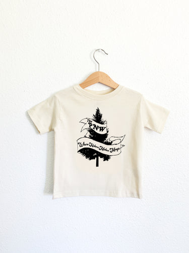 The PNW—Where Nature Makes Magic Toddler Tee