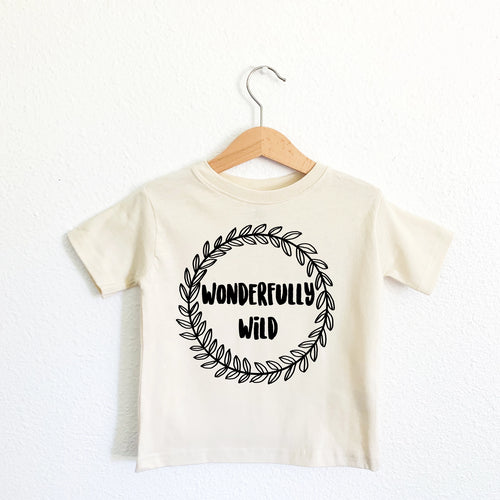 Wonderfully Wild Toddler Tee