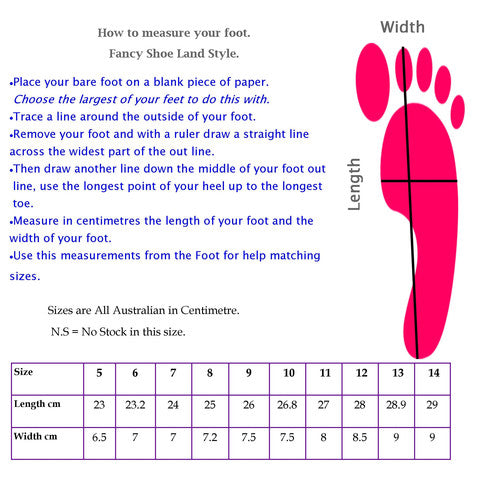 How to measure your foot for shoes sizes.