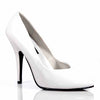 white high heel shoes pleaser brand