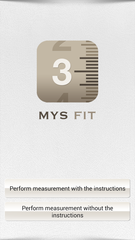 screen shot for the app Mys fit.