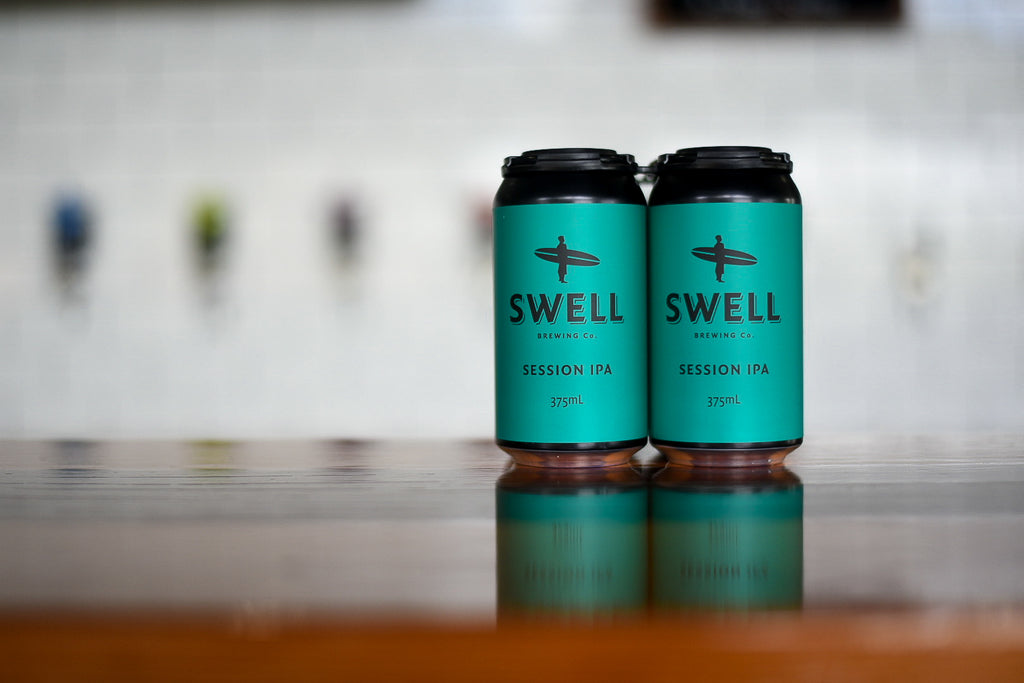New Brewery Qualifying Series (BQS) small batch beer release- SWELL SESSION IPA