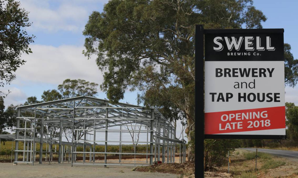 Swell Brewing Co. to open Brewery and Tap House in McLaren Vale later this year.