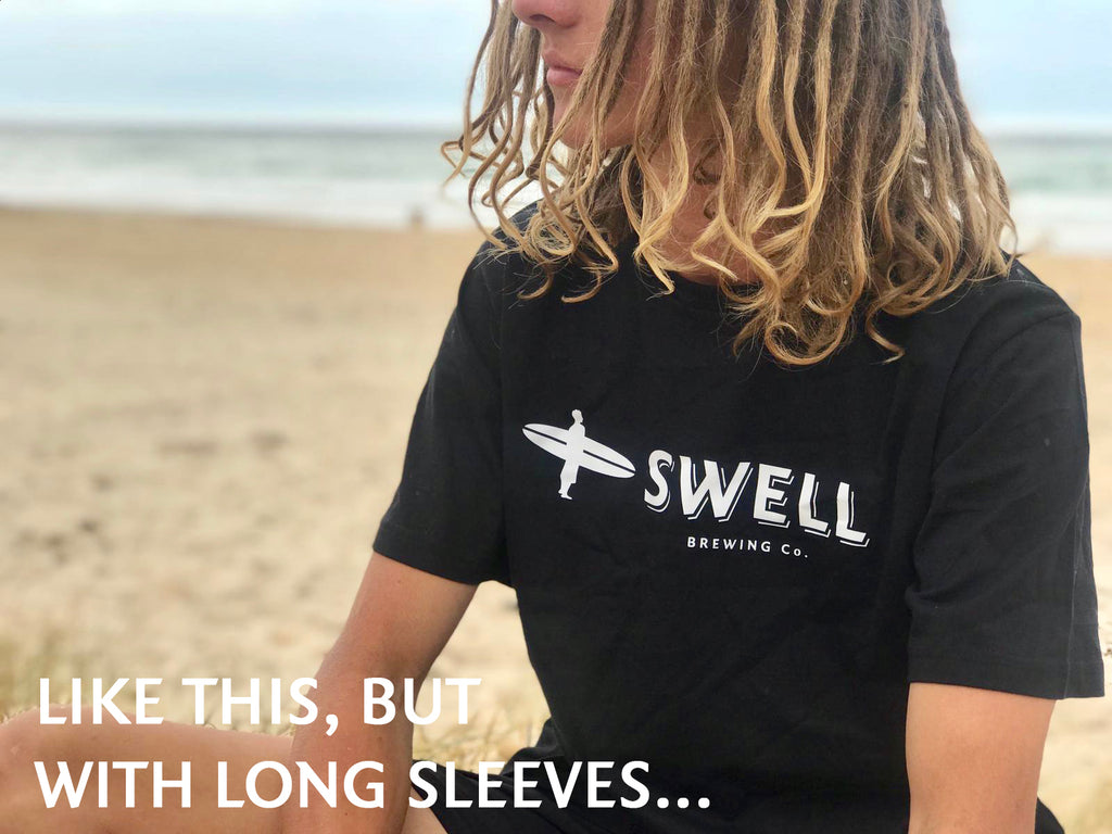 Swell Logo Long Sleeve Tee