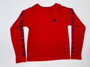 Red Dri-Fit Long Sleeve