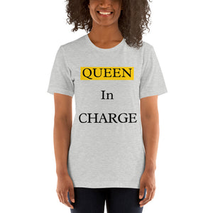 Queen In Charge Top-White