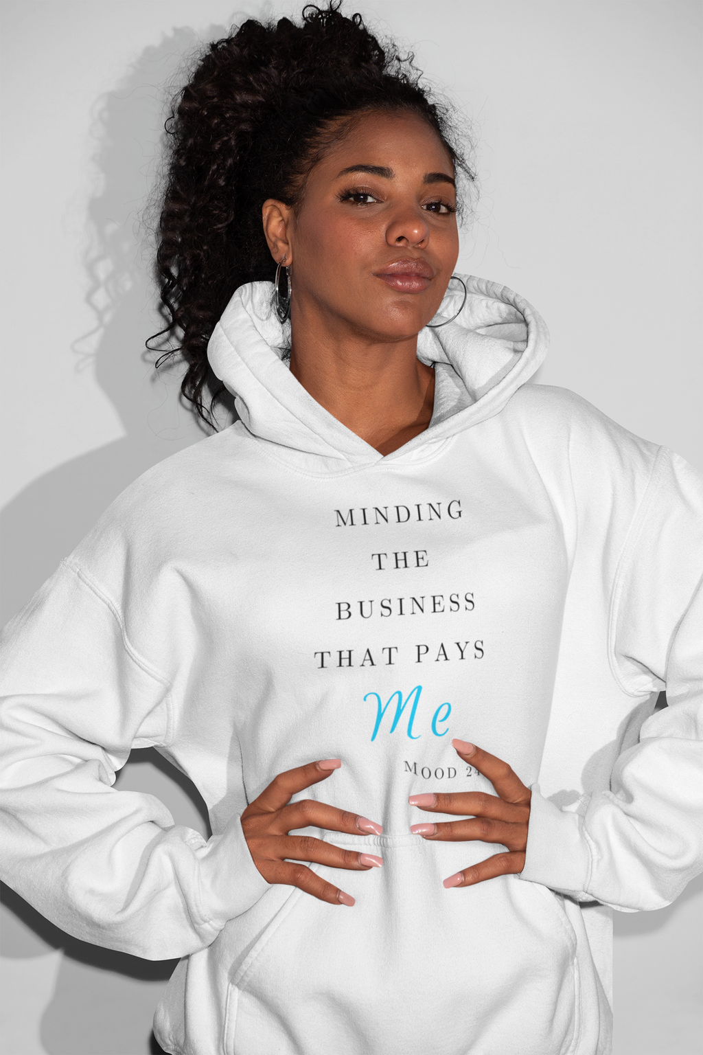 Minding What Pays Hooded Sweatshirt