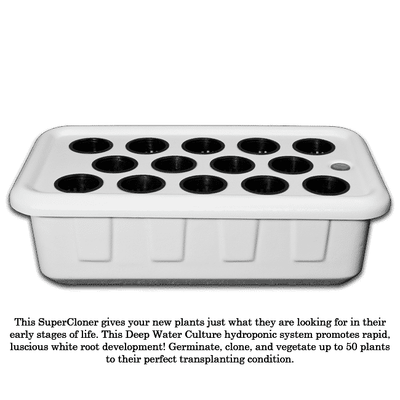 SuperCloner 14-Site Hydroponic Cloner container