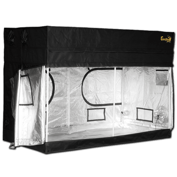 angle open The Gorilla Grow Tent® Shorty 4' x 8' x 4'11""