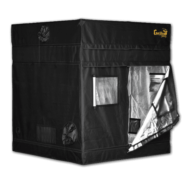 half open The Gorilla Grow Tent® Shorty 5' x 5' x 4'11""