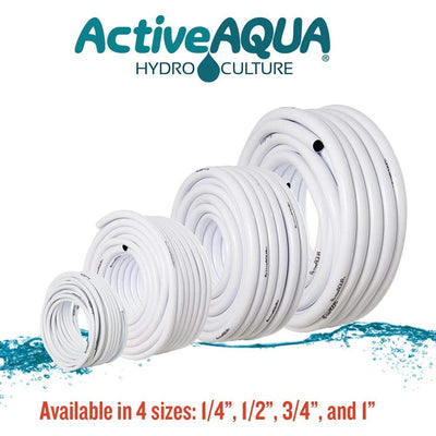 white tubing available in different sizes
