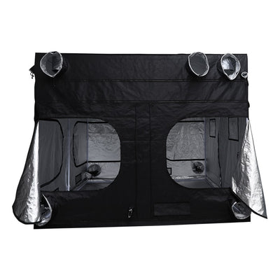 "rear open The Goliath Grow Tent 10' x 10' x 6'11""/7'11"""