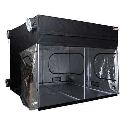 "open The Goliath Grow Tent 10' x 10' x 6'11""/7'11"""