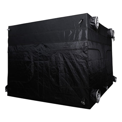 "rear The Goliath Grow Tent 10' x 10' x 6'11""/7'11"""
