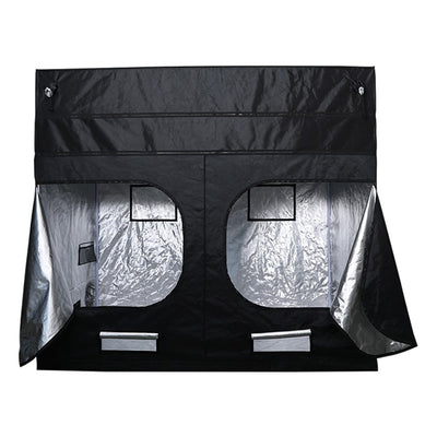 "rear open The Goliath Grow Tent 3' x 3' x 6'11""/7'11"""