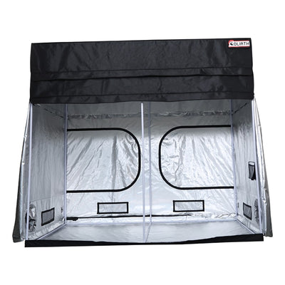 "front open The Goliath Grow Tent 3' x 3' x 6'11""/7'11"""