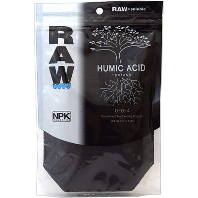 raw humic acid and potash 0-0-4 front packeging
