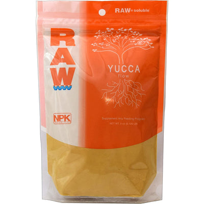 npk raw yucca flow front packaging
