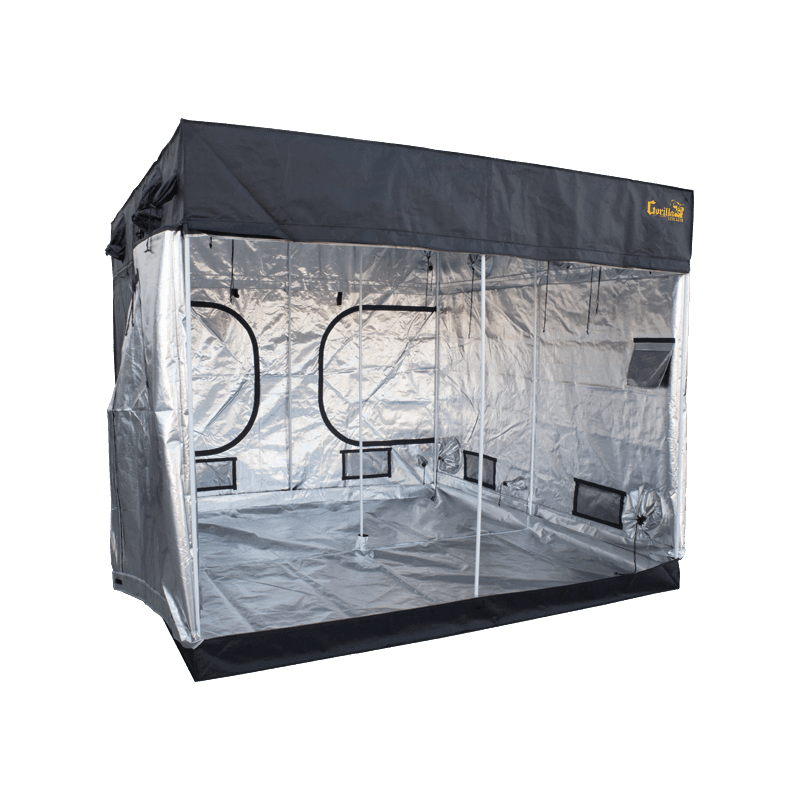 "open Gorilla LITE LINE Indoor 8' x 8' x 6'7"" Grow Tent"