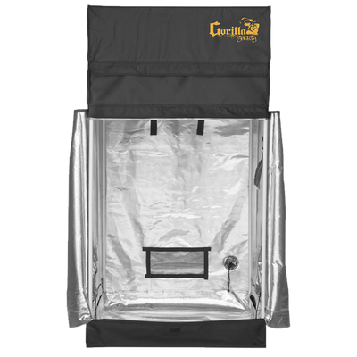 front open The Gorilla Grow Tent® Shorty 3' x 3' x 4'11""