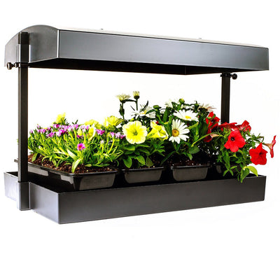 Sunblaster LED Grow Light Garden, Black