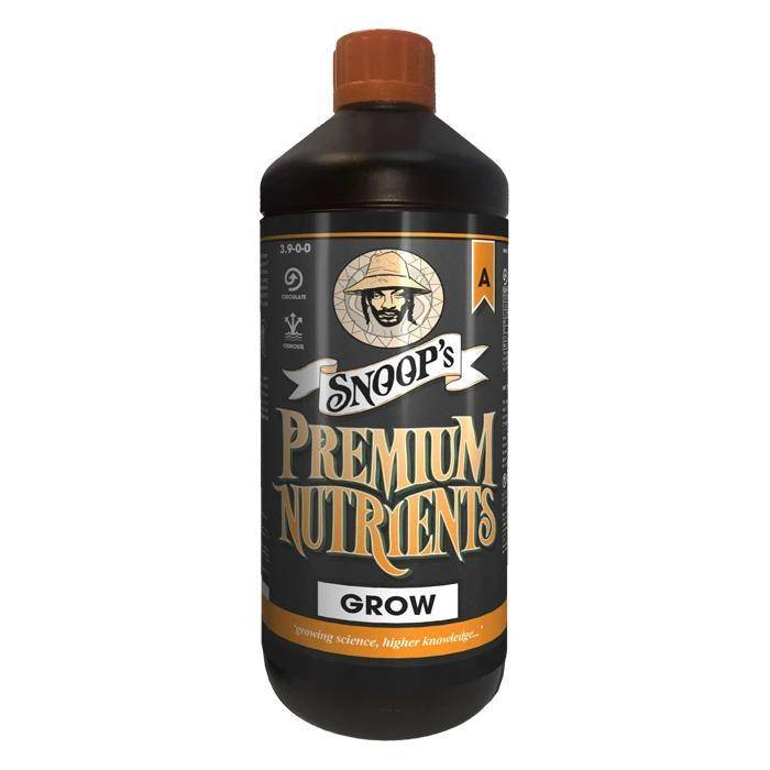 Snoops Premium Nutrients Grow Hydro G A