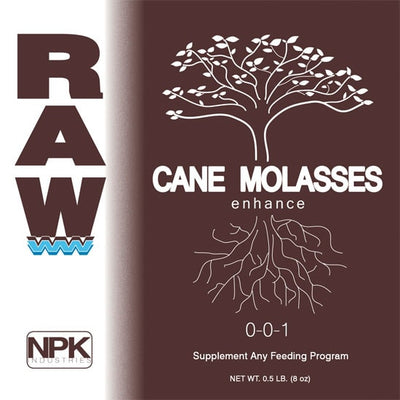 Raw Can Molasses 2 oz brown label