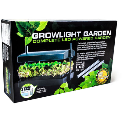 Front packaging of the LED powered garden