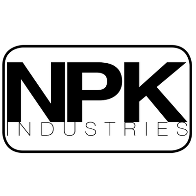 NPK Industries Black and White logo