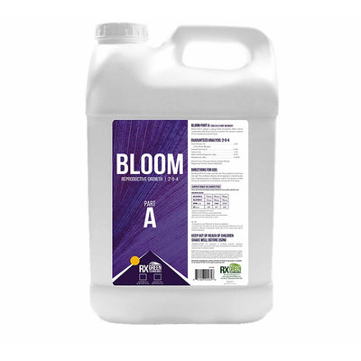 Bloom Part A Front Label with Directions for us and chart
