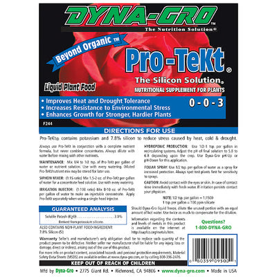 pro tekt back label directions for use liquid plant food