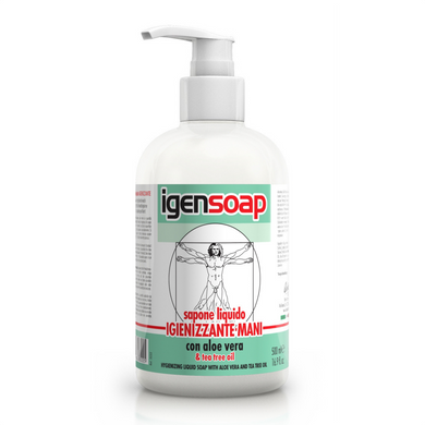 IGENGEL - Hand Hygienizing Liquid Soap With Tea Tree Oil 500ml
