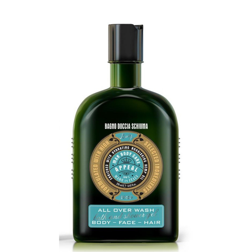 Appeal - Man Bath & Shower Gel with Hemp Oil