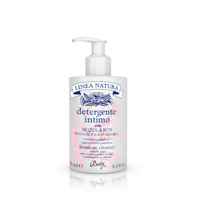 ROSE WATER INTIMATE CLEANSER  - Natura Line Refreshing Rose Water Intimate Cleanser-250ml
